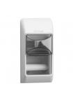 Диспенсър ( дозатор ) за тоалетна хартия малки ролки- бял